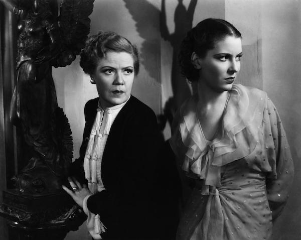 Spring Byington and Valerie Hobson, Werewolf of London 1935