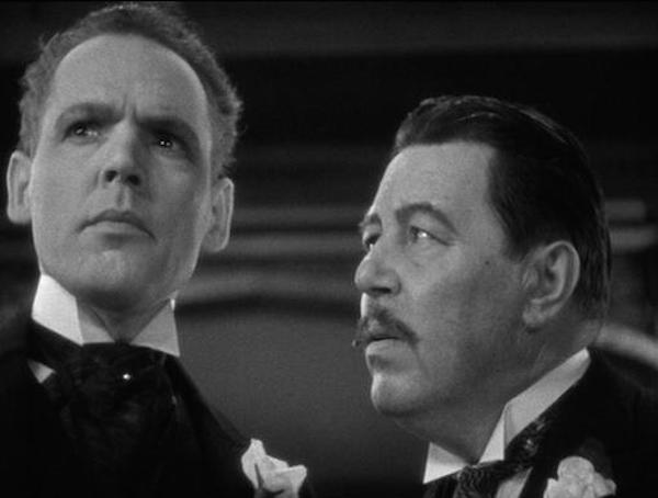 Henry Hull and Warner Oland in Werewolf of London 1935