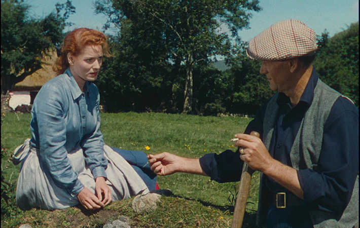 John Wayne and Maureen O'Hara in The Quiet Man