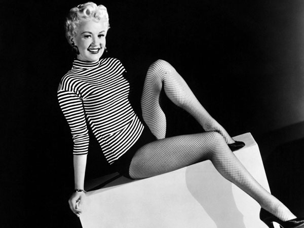 Betty Grable Those legs are worth than my, well, everything I own and have ever owned.