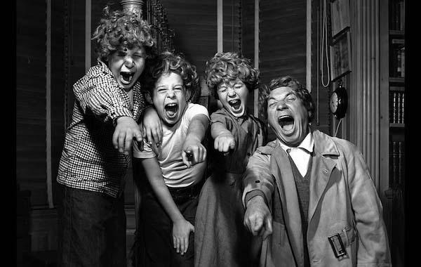 Harpo Marx and his children