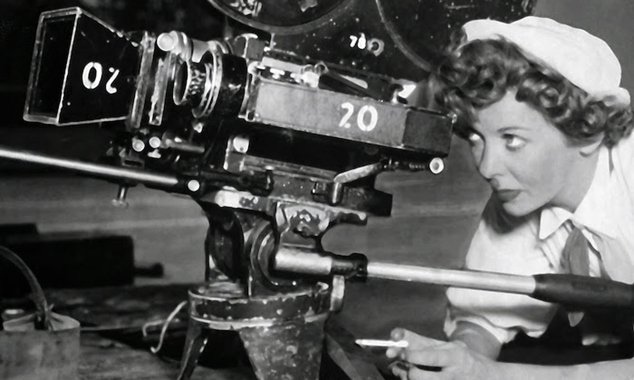The Hitch-Hiker Ida Lupino behind the camera.