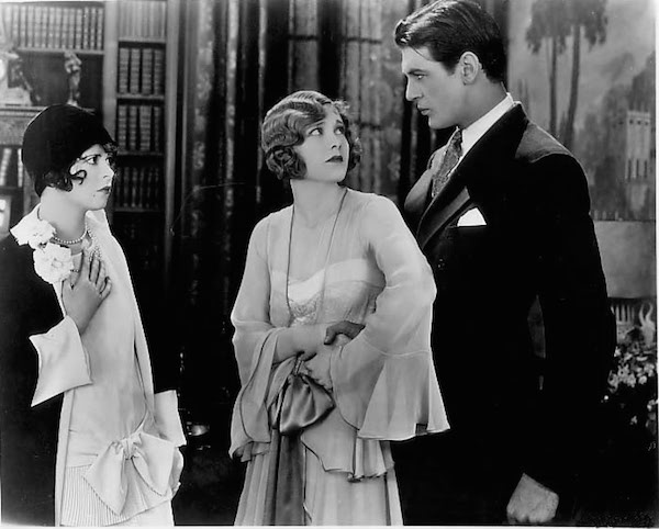 Children of Divorce, Clara Bow, Gary Cooper, Esther Ralston