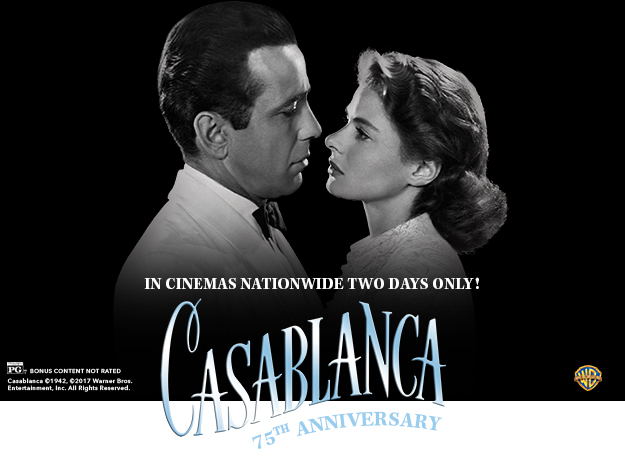 Casablanca TCM Big Screen Presents Fathom Events