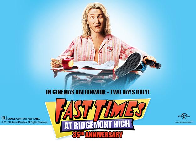 Fast Times at Ridgemont High TCM Big Screen Classics Fathom Events