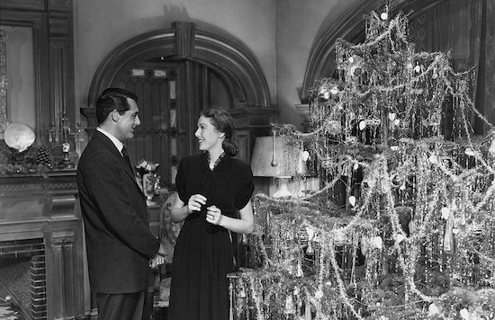 The Bishop's Wife, Cary Grant, Loretta Young, Christmas tree