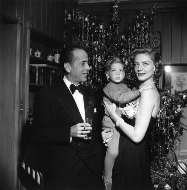 Bogie and Bacall on Christmas