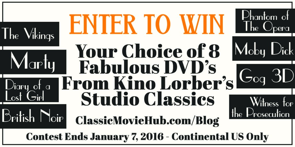 Kino Lorber Studio Classics contest selection