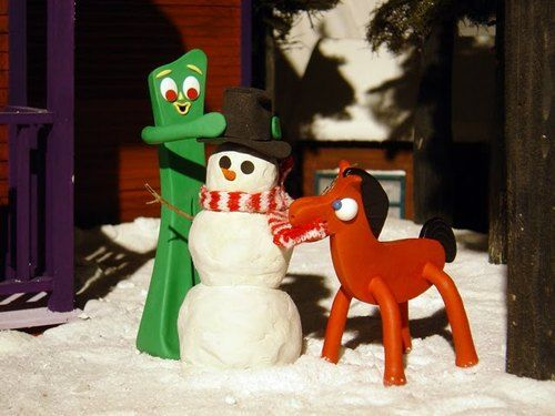 Christmas with gumby and pokey