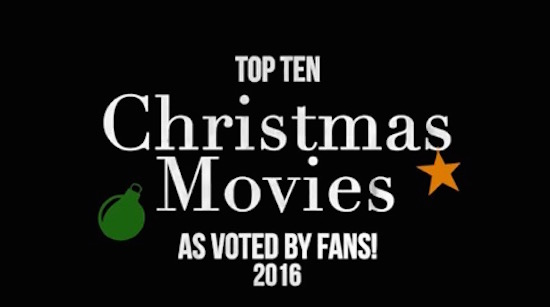 Top Ten Christmas Movies as voted by CMH Fans 2016, Classic Movie Hub