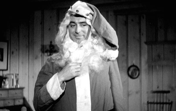 Cary Grant as Santa in My Favorite Wife