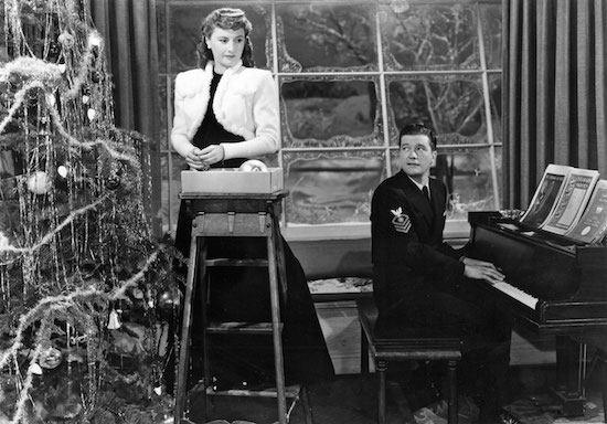 Christmas in Connecticut, Barbara Stanwyck, Dennis Morgan, Christmas Tree