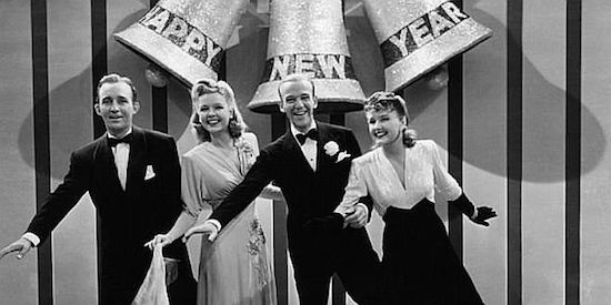 Holiday Inn, Fred Astaire, Bing Crosby, New Year's bells