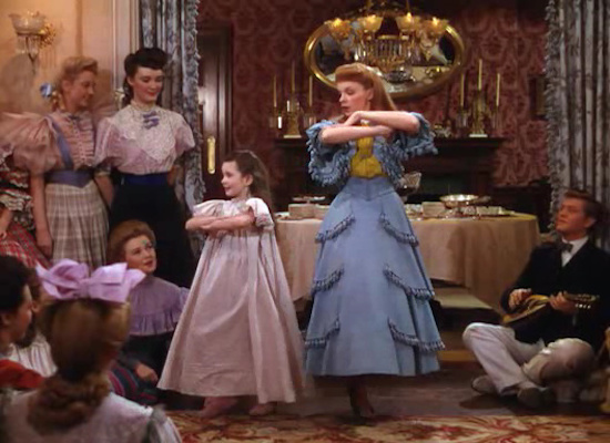 Meet Me in St. Louis, Judy Garland, Margaret O'Brien