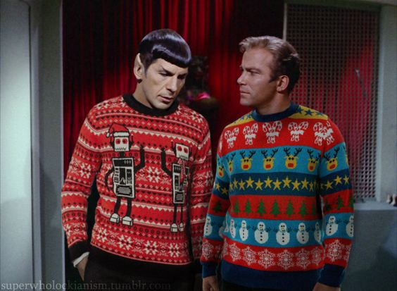 Star Trek ugly Christmas Sweaters