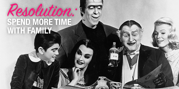 The Munsters, spend more time with family