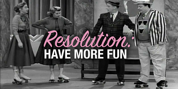 The Honeymooners on roller skates