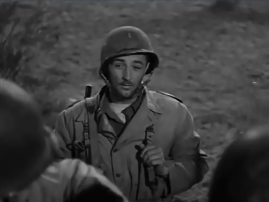 Robert Mitchum The Story og G.I Joe