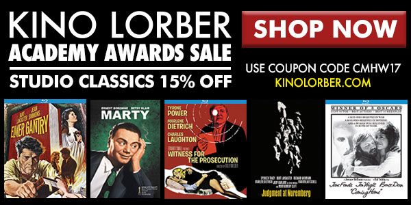 Kino Lorber Academy Award Winning Classics and Coupon Code