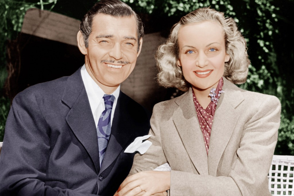 carole lombard and husband clark gable