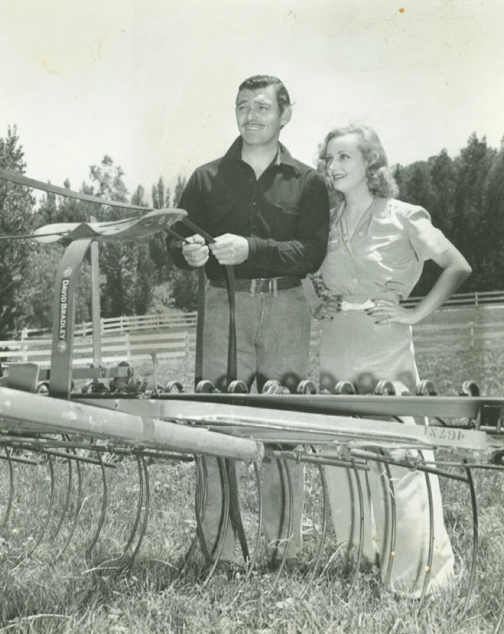 gable and lombard at the ranch