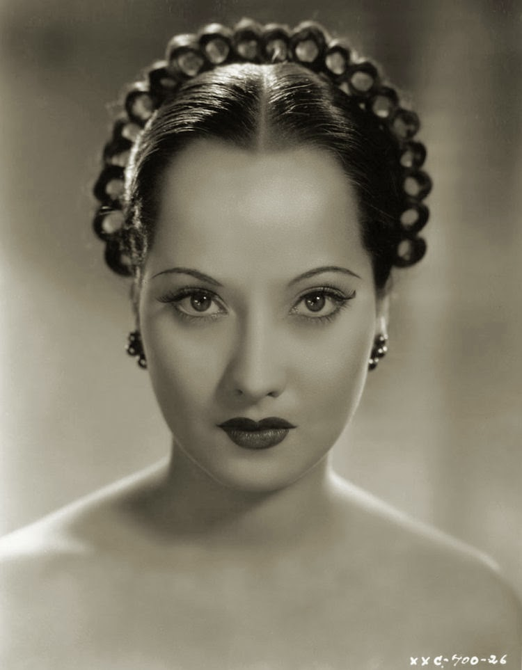 merle oberon photos