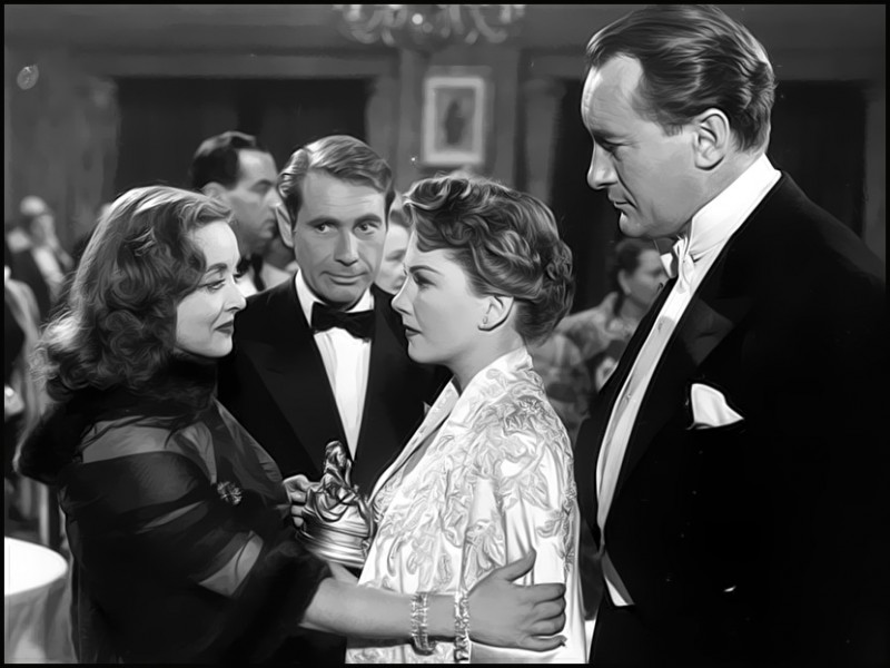 All About Eve, Bette Davis, Ann Baxter, George Sanders