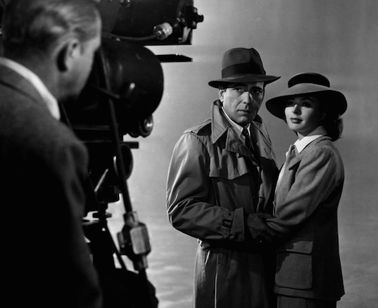 Casablanca, goodbye scene Humphrey Bogart and Ingrid Bergman
