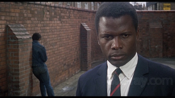 sidney poitier to sir with love in the school yard
