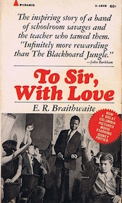 to sir with love book by e. r. braithwaite