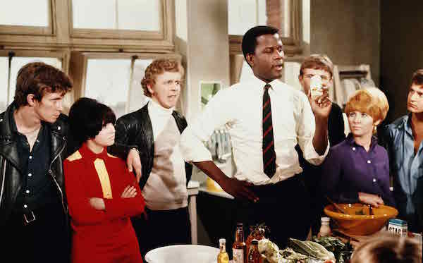 to sir with love, sidney poitier, teaching class