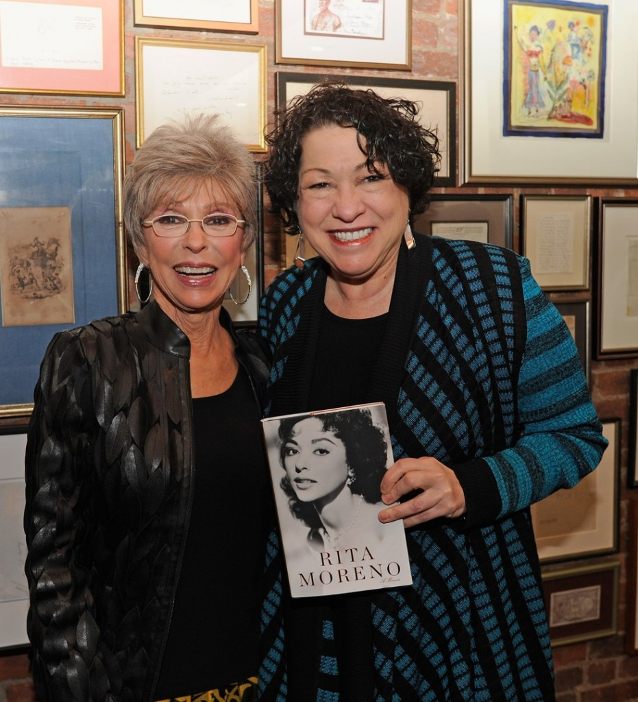 Rita Moreno and Sonia Sotomayor