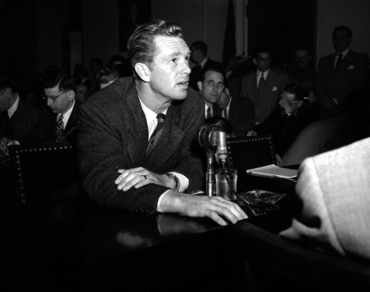 Sterling Hayden Testifying