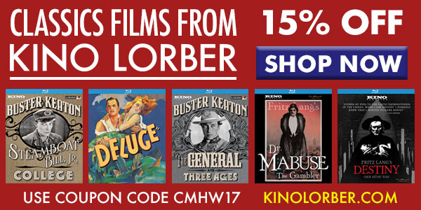 Kino Lorber CMH coupon