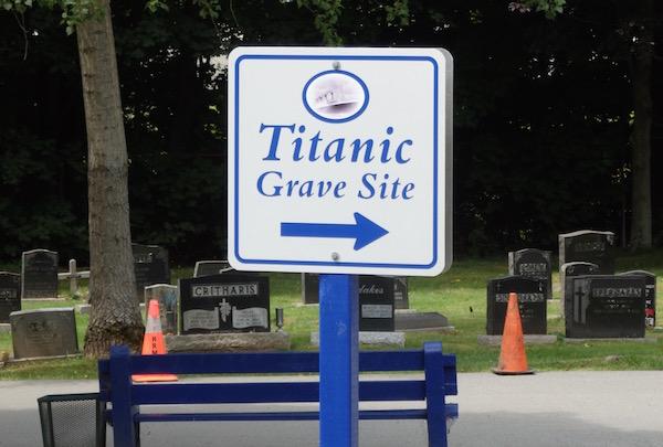 Titanic Gravesite Fairview Cemetery Halifax Nova Scotia