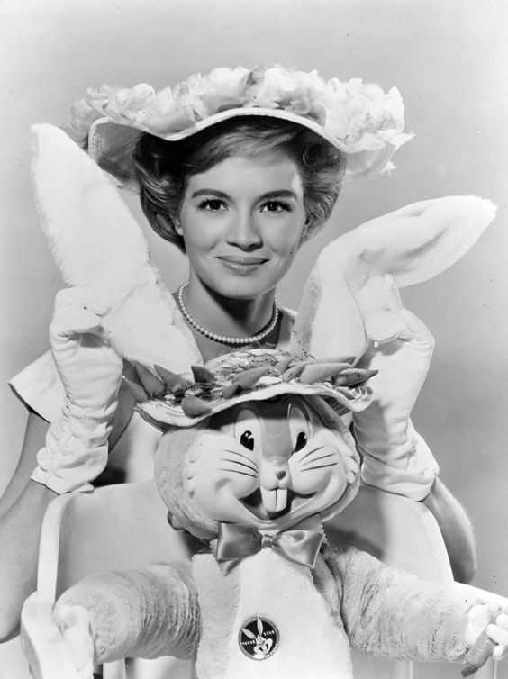 angie dickenson easter bunny