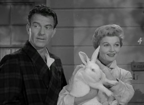 easter hugh beaumont leave it to beaver easter bunny Barbara Billingsley