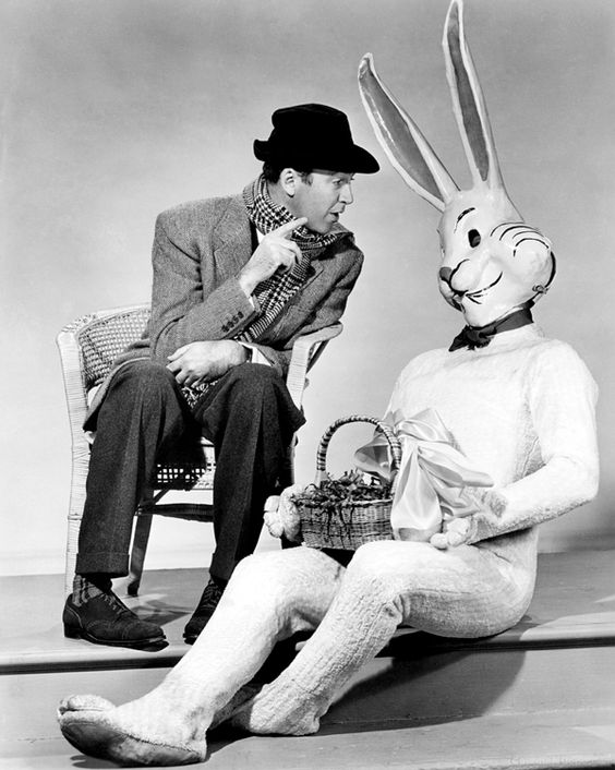 jimmy stewart harvey easter bunny