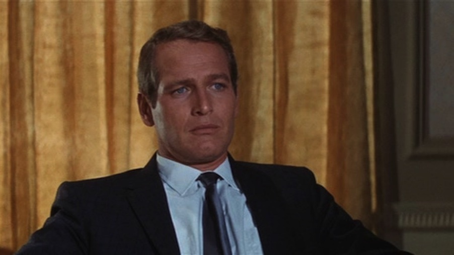 "Paul Newman as Harper ""Your husband keeps lousy company, Mrs. Sampson, as bad as there is in L.A. And that's as bad as there is."""