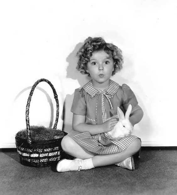 shirley temple Easter