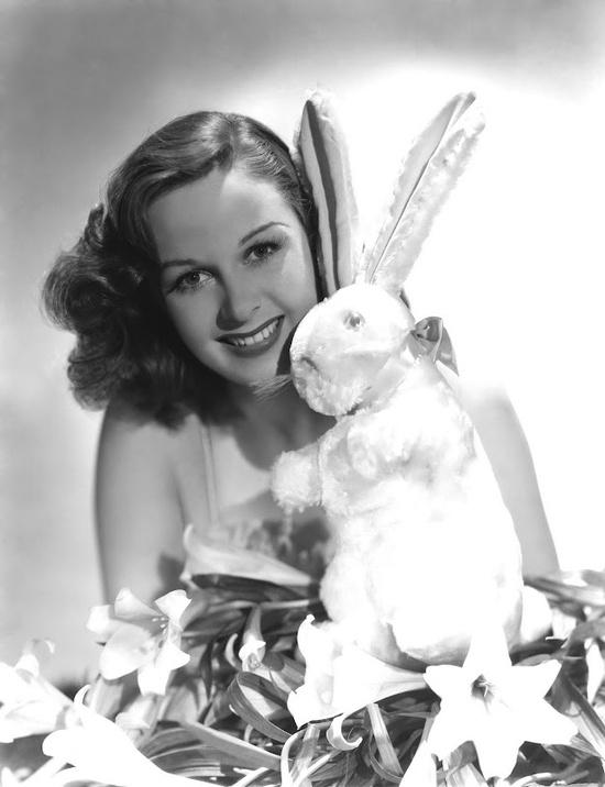 susan hayward easter bunny