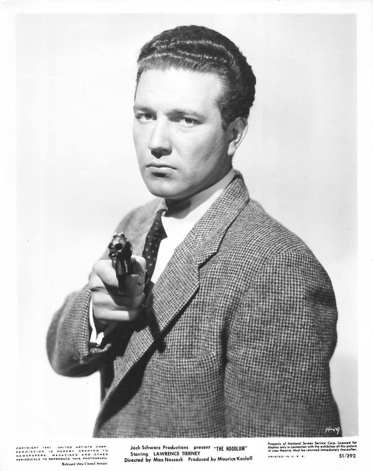 The Hoodlum, 1951, Lawrence Tierney's little brother, Edward, made his film debut as his onscreen brother.