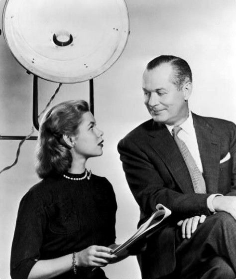 Father and Daughter Robert Montgomery and Elizabeth Montgomery