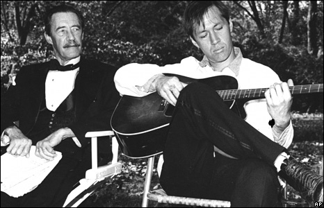 Father and Son John Carradine and David Carradine