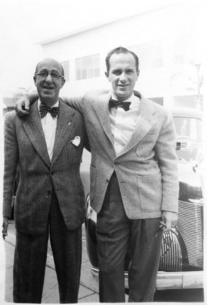 Father and Son Ed and Keenan Wynn