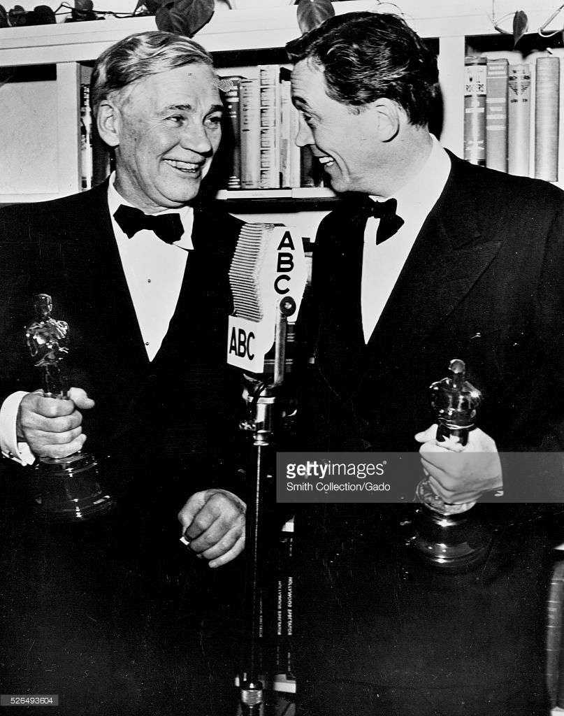 Father and Son Walter and John Huston