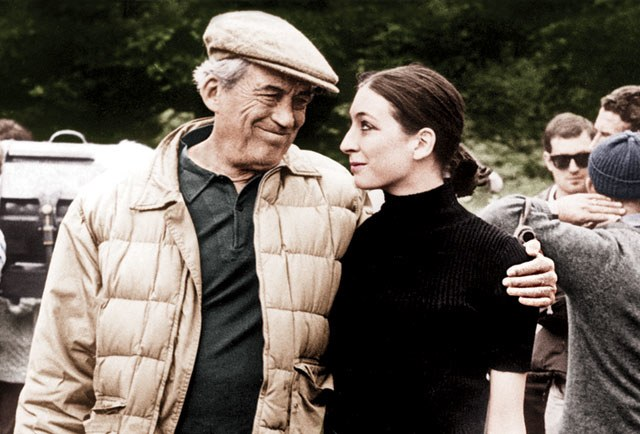 Father and Daughter John Huston and Anjelica Huston