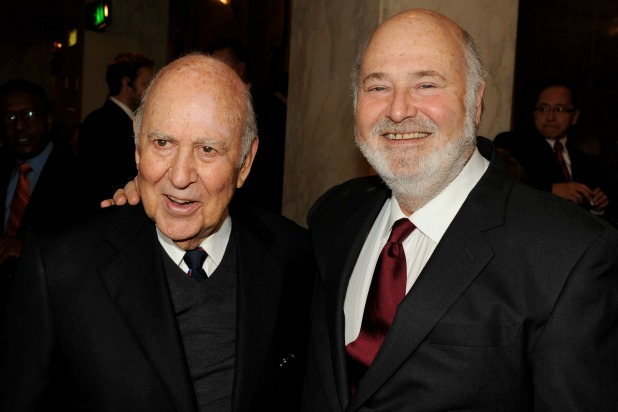 Father and Son Carl Reiner and Rob Reiner