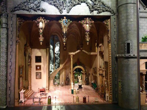 Great Hall of Colleen Moore's Fairy Castle Doll House
