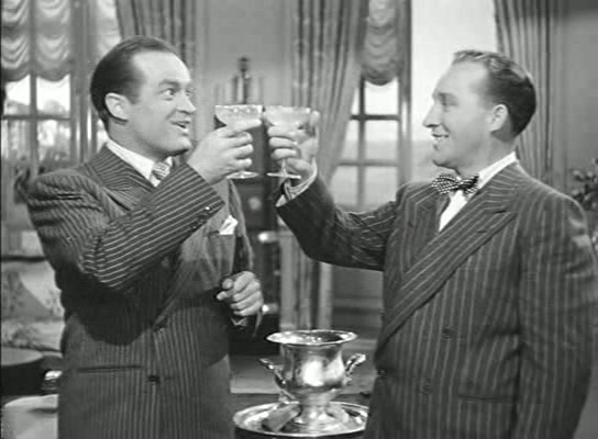 Bob Hope Bing Crosby champagne Road-to-Rio-1947